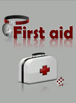 First Aid - Welcome Screen