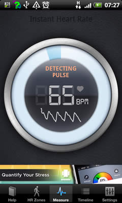 Instant Heart Rate - measuring