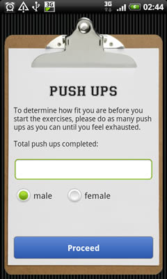 Android Push Ups picture