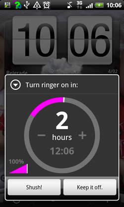 Shush! Ringer Restorer screenshot