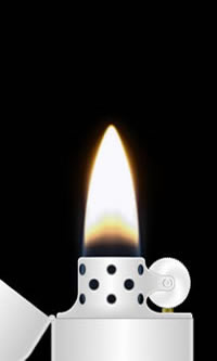Lighter - flame picture
