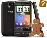 HTC Desire Gingerbread picture